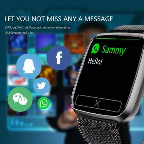Relógio Smartwatch Colmi S8 Pulseira de Aço - Foto 4