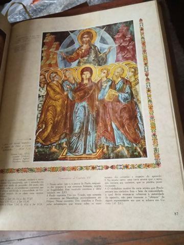 Raridade! Coleção Bíblia Sagrada Católica Ilustrada - Foto 5
