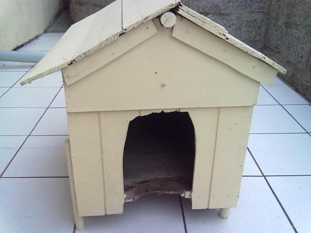 Casinha de madeira para cachorros pequenos e gatos - Foto 4