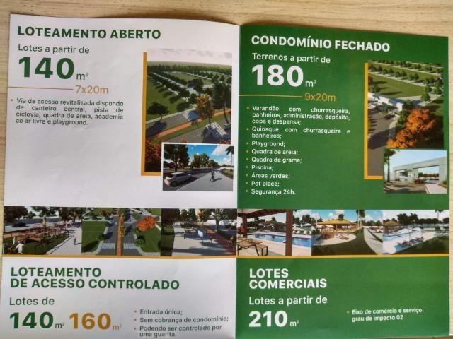 C = Cidade Jardim 2 - Lotes com 140 M², 160 M² e 180 M² = em até 60 parcelas com Entrada ! - Foto 8