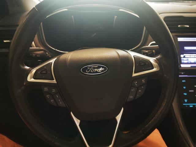 Ford/ Fusion Top de LInha - Ano 2015/2015 - Unico dono - Branco com interior caramelo - Foto 6