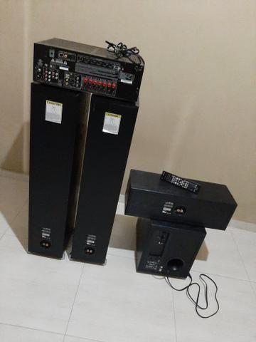 Vendo aparelho de som para sala - Foto 3