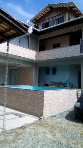 Casa ou Quartos com Piscina prox. Beto Carrero World e praia em Penha/SC - Foto 2