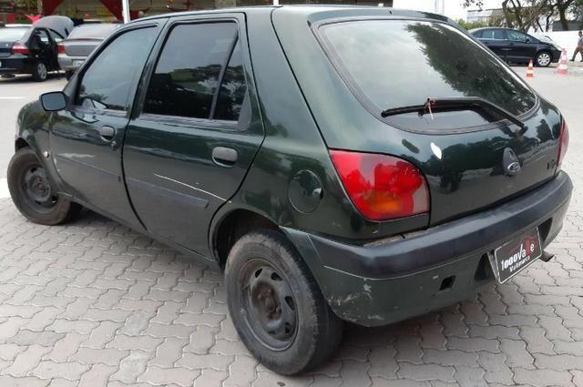 Fiesta GL Class 1.0 5P 2001 Verde - Foto 7