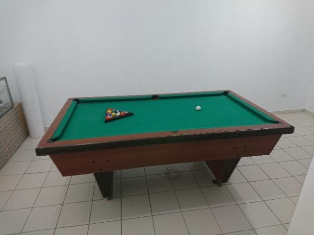 Mesa de Sinuca com Gaveta 1,27 x 2,27, Oportunidade! - Foto 5