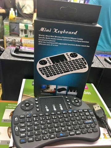 Mini Teclado Sem Fio Wireless Touch Pad Universal Console Pc - Foto 4