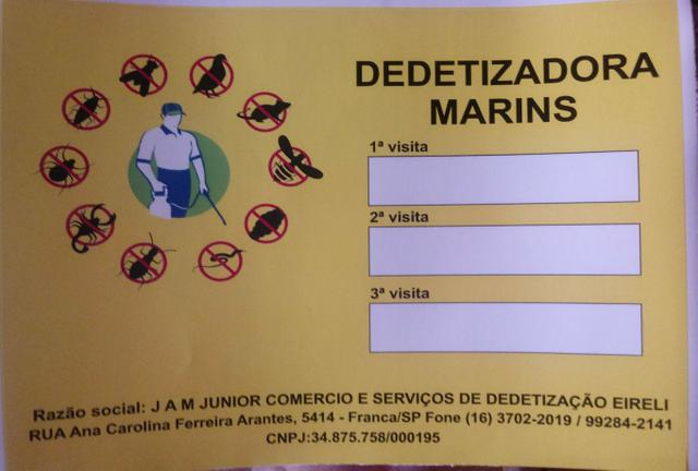 Dedetizadora MARINS - Foto 2