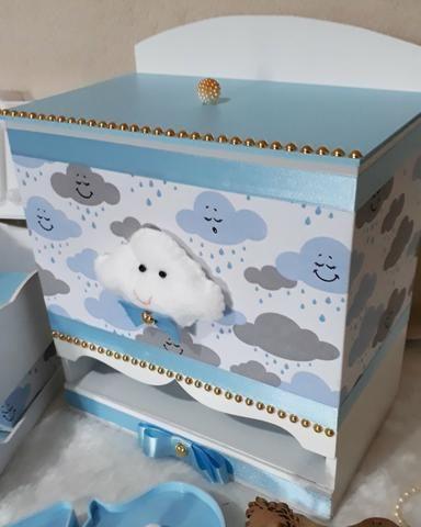 Kit Higiene Bebê Chuva de Amor Baby Boy - Foto 2