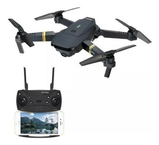 Drone Fq777 Fq35 Dobrável Camêra Hd Cam-720p Wi-fi - Foto 2