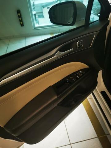 Ford/ Fusion Top de LInha - Ano 2015/2015 - Unico dono - Branco com interior caramelo - Foto 11