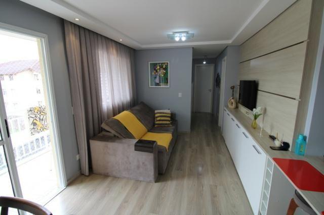 Capão Raso 3 dormitórios churrasqueira a carvão em condomínio Club