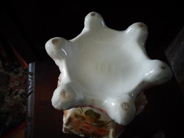 Porcelana antiga vaso potiche - Foto 6