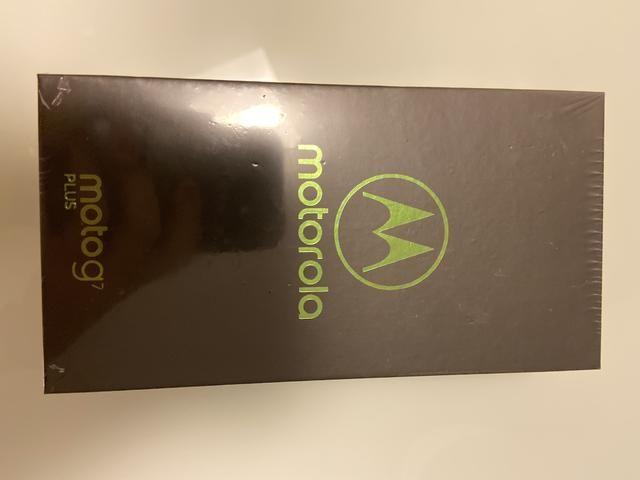 Motorola G7 plus novo lacrado 64G