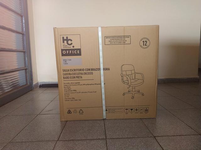 Cadeira giratória para escritório! TOP! Lacrada - Foto 6