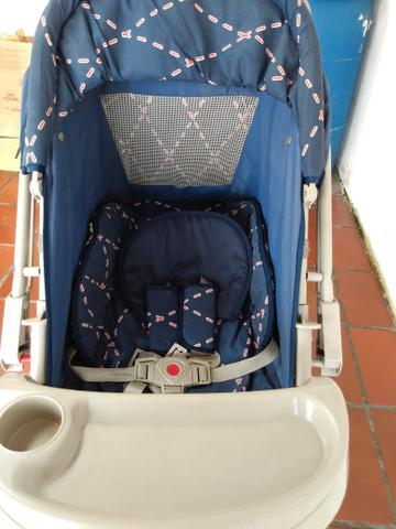 Carrinho bebê menino Galzerano