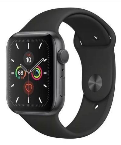 Apple Watch 5 S5 44mm Lacrado - Aceito Cartão - 1 ano de garantia