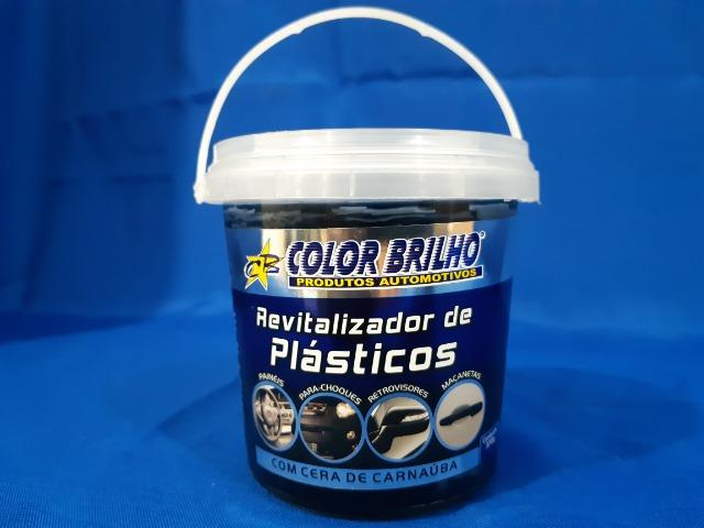 Revitalizador de plásticos (com cera de carnaúba) - 400 G - Foto 2