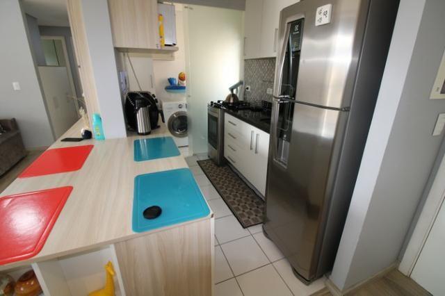 Capão Raso 3 dormitórios churrasqueira a carvão em condomínio Club - Foto 4