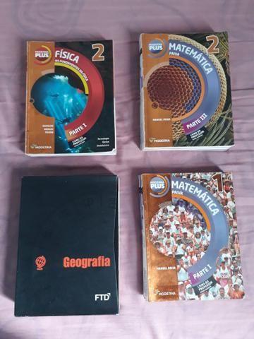 Livros do Ensino Médio (1° e 2° ano)
