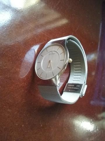 Relógio Skagen Denmark Steel - Bijouterias, relógios e acessórios ... 3ce9bc67de