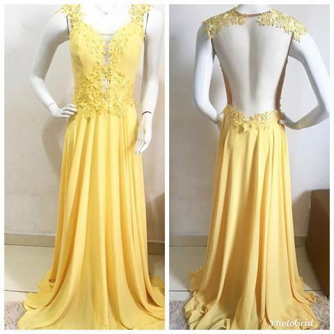 Aluguel de Vestido de festa / vestido longo Diva Glamourosa