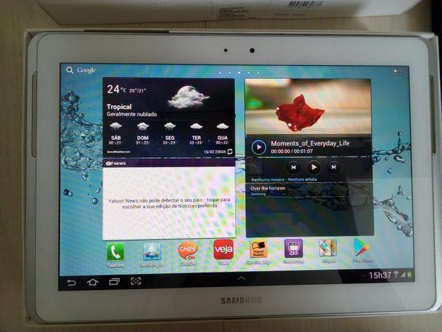 Troco por Iphone Tablet Samsung Galaxy Tab 2 - Modelo P5100 Wi-fi + 3g