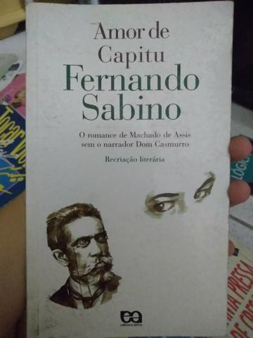 Paradidático Amor de Capitu - Fernando Sabino