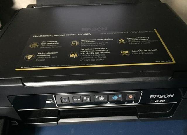 Impressora Epson XP-231 (SEM FIO / WI-FI)