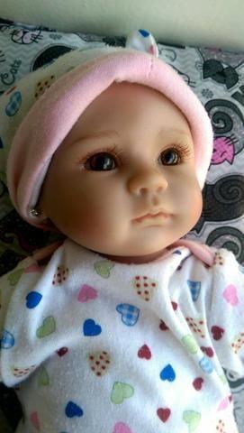 Lindo Bebê Reborn com bercinho