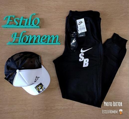7b0faecaec1 Calça Moletom Nike Preta P - Roupas e calçados - Alto da Boa Vista ...