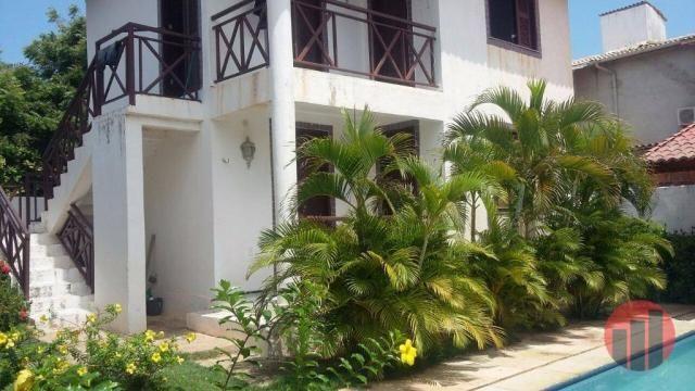 Casa com 4 dormitórios à venda, 480 m² por R$ 830.000,00 - Porto das Dunas - Aquiraz/CE