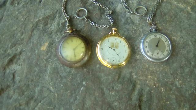Relógios de bolso antigos - Foto 3