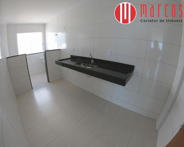 Apartamento para locação 3 quartos, amplo e novíssimo na Praia do Morro. - Foto 9