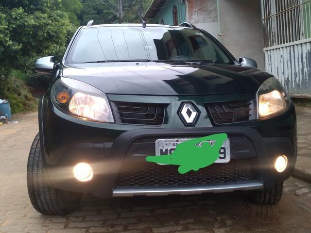 Sandero step way vendo/ troco por sedan/Civic/4008/fluence/corolla - Foto 9