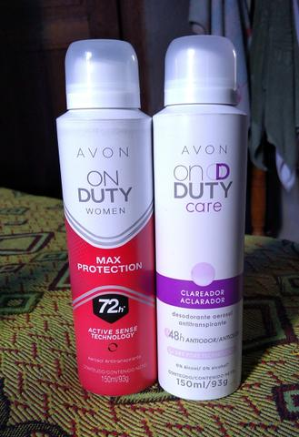 Desodorante aerosol
