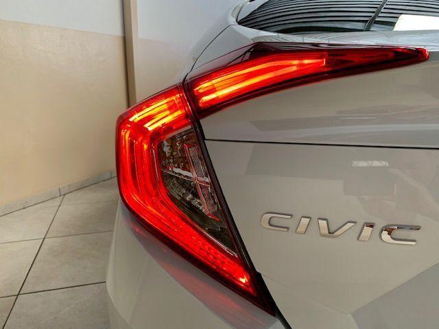 Honda Civic EXL 2.0 * Igual Zero Km * 4.000 Kms Sem Um Detalhe, Branco Perolizado, 2020 - Foto 14