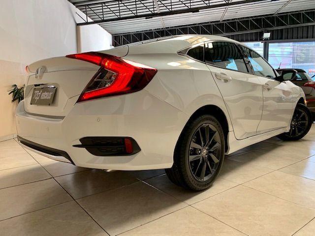 Honda Civic EXL 2.0 * Igual Zero Km * 4.000 Kms Sem Um Detalhe, Branco Perolizado, 2020 - Foto 4