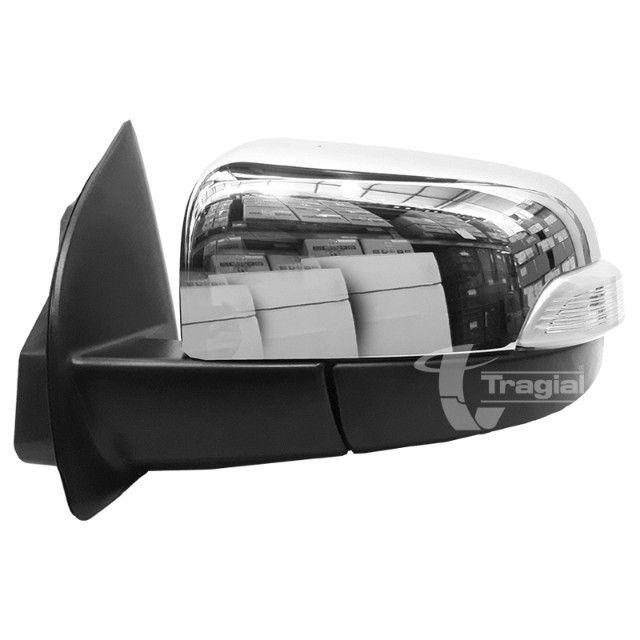 Kit Retrovisor Rebatimento Ford Nova Ranger Tragial 2012 a 2020- Instalado - Foto 4
