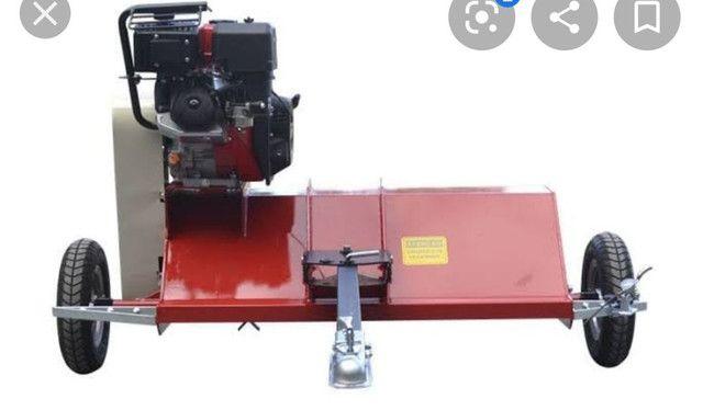 Roçadeira rotativa Moldemaq para quadriciclo