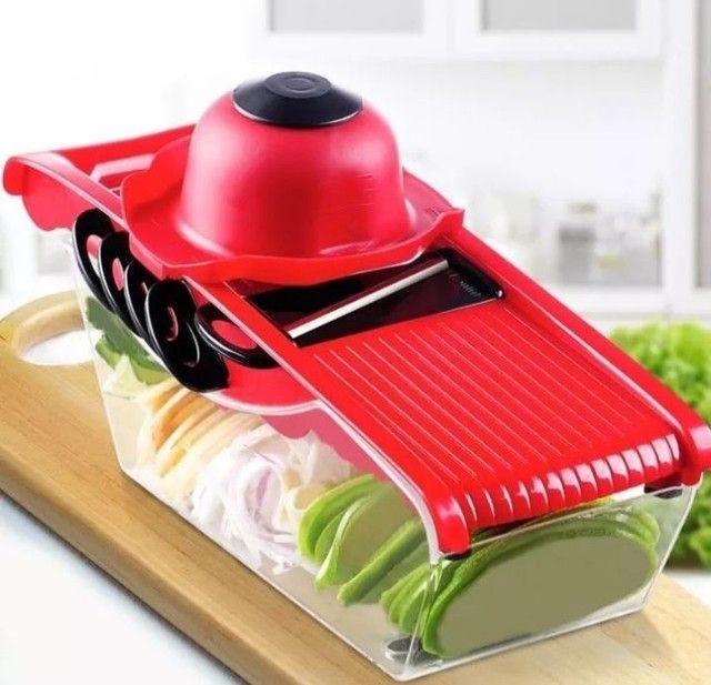 Kits cortador ralador fatiador ótimo pra fazer diversos tipos de salada só 65 REAIS - Foto 3