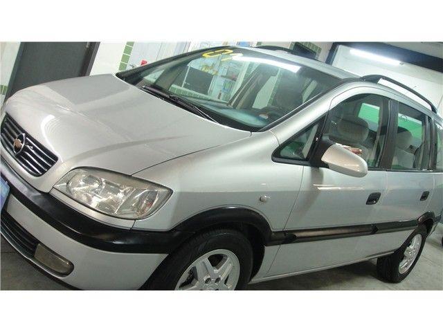 Chevrolet Zafira 2001 2.0 mpfi 8v gasolina 4p manual - Foto 3