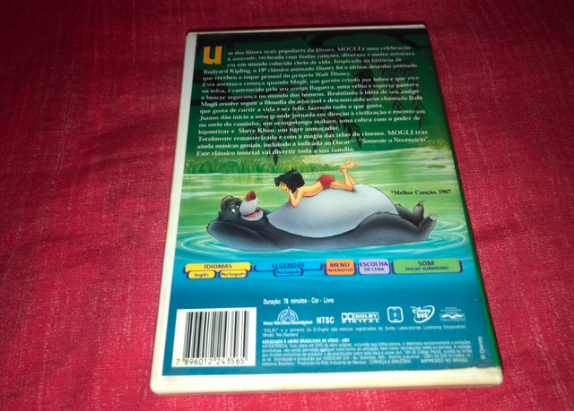 DVD Mogli - O Menino Lobo - 1ª Edição - Raríssimo - Foto 2
