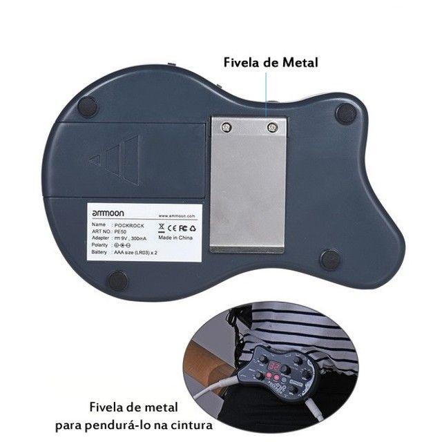 Pedal Ammoon Pockrock Processador Multi Efeitos - Foto 5