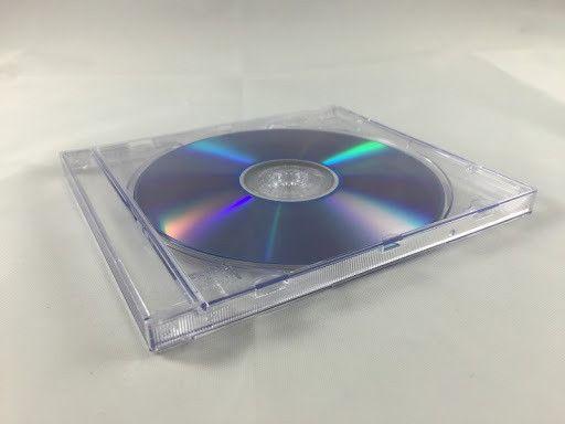 Caixa de Acrílico para CD's e DVD's
