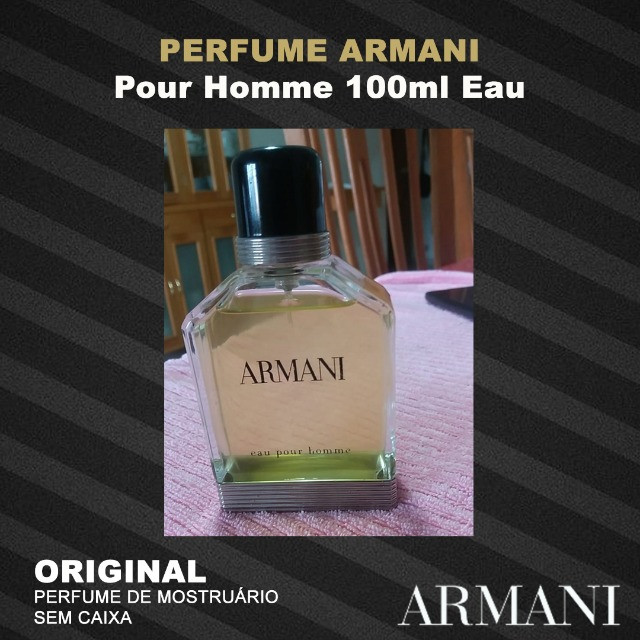 Perfume Armani Pour Homme 100ml Eau
