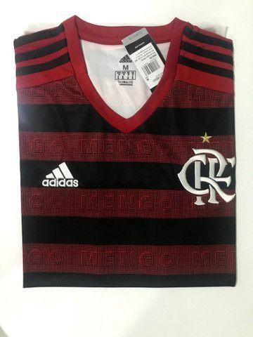 Camisa Flamengo Modelo 1 2019/2020 - Foto 5