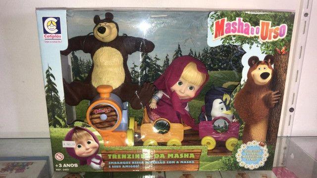 brinquedo masha e urso