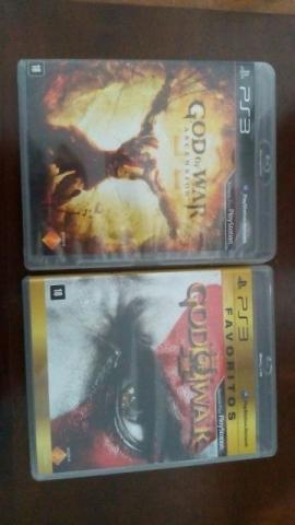 God of war 3 e god of war ascension