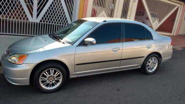 Honda Civic Lx 2001 Completo