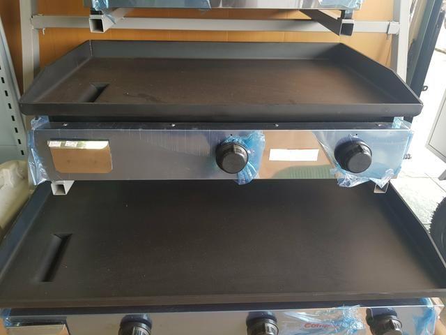 Chapa profissional 80x50cm 6,35mm de espessura - Nova com garantia
